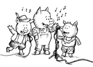 Trois petits cochons