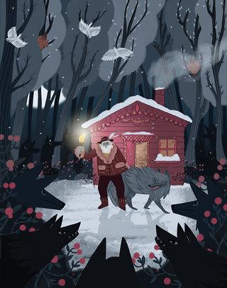 LE vieux loup et le tzigane
