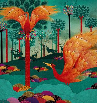 oiseau de feux collection Automne Hiver 2012 Anatopik