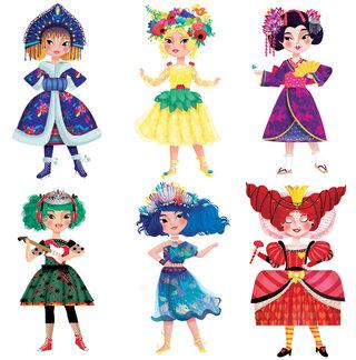 Mix and match princesses