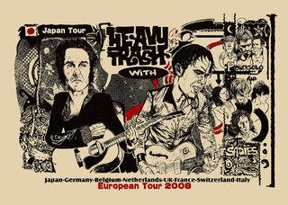 HEAVY TRASH POSTER TOUR / 2008