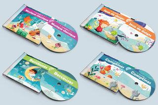 Création d'illustrations pour une collection de cd jeunesse