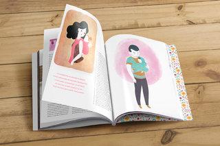 Illustrations pour magazine lifestyle