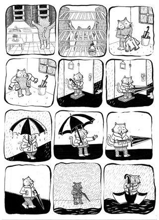 Coup de parapluie