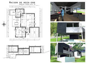 La maison de week-end / Week-end house 1/2