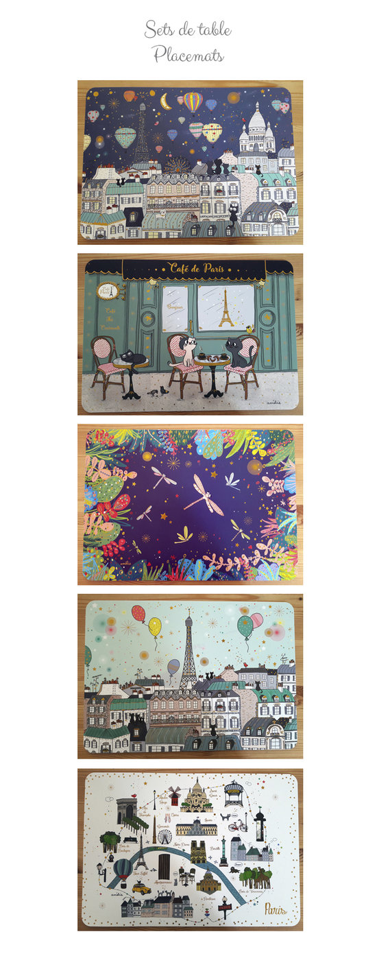 Sets de table - Editions Cartes d'Art