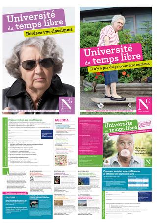 Université du temps libre 2011 (conférences pour seniors)