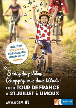 Passage du Tour de France - Aude 2019