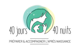 Logo 40 Jours 40 Nuits 2018