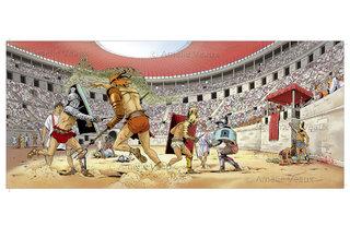 Gladiateurs - Colisée