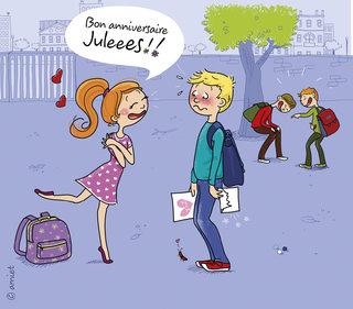 Illustration jeunesse, Jules image