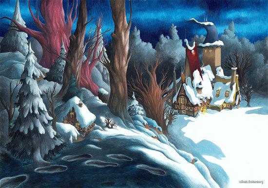 Hiver, une saison chez les sorcières - couverture
