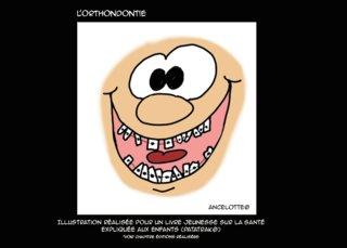 appareil dentaire - illustration pour les 5/10 ans