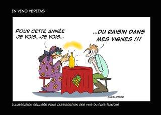 illustration pour les vins de Nantes