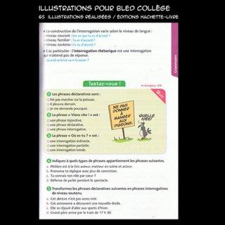 Extrait livre scolaire français