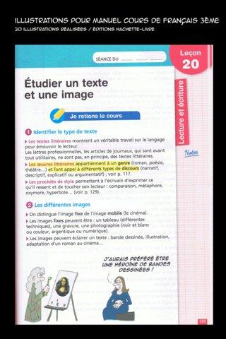 Extrait manuel scolaire de Français