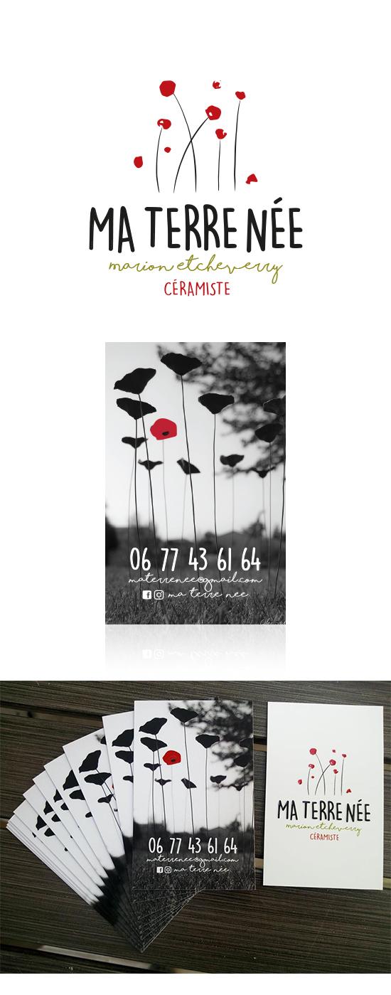 Création Logotype & Carte commerciale