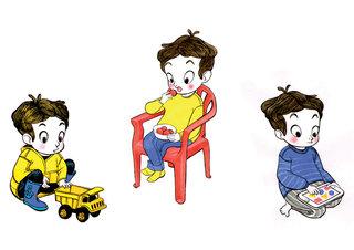 Petit garçon - Little boy - Traditionnel