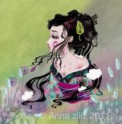 la geisha et la rivière