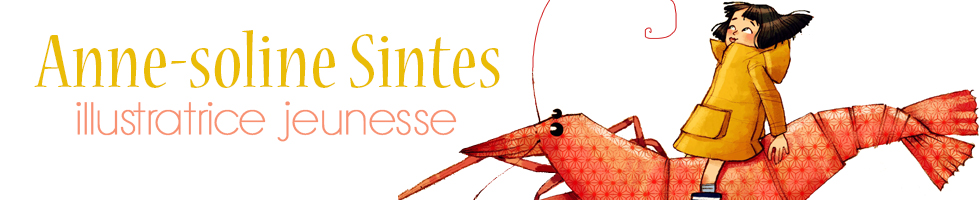 Anne-Soline SINTES, illustratrice jeunesse free lancePublications