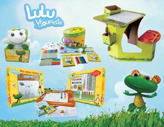 Collection de loisirs créatifs Lulu Vroumette.