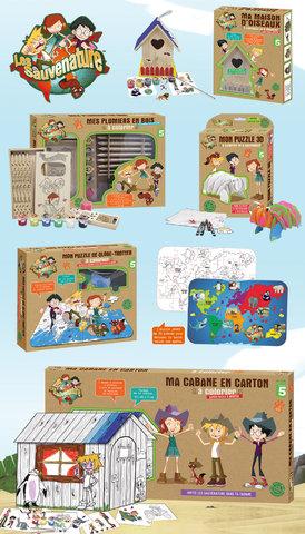 """collections de loisirs créatifs """"Les Sauvenatures"""""""