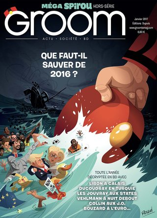 Groom n°3 Méga Spirou - Editions Dupuis