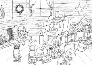 Lutin de Noël