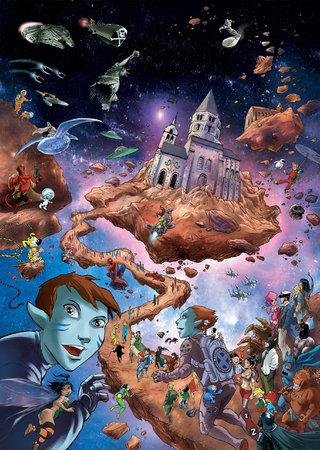 Affiche Festival BD de Cluny