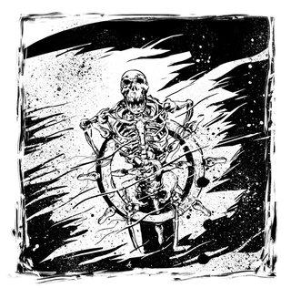 Squelette Pavillon Noir Pirate