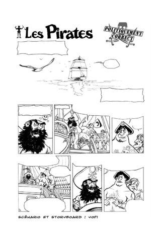 Les Pirates planche 1