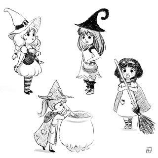 Petites sorcières