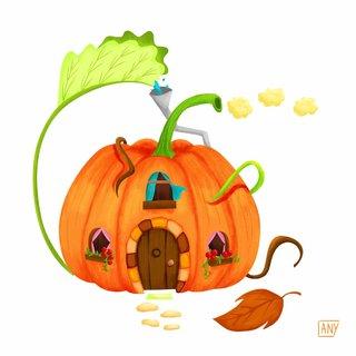 Maison Citrouille