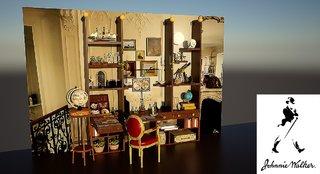 Cabinet de curiosités Johnnie Walker
