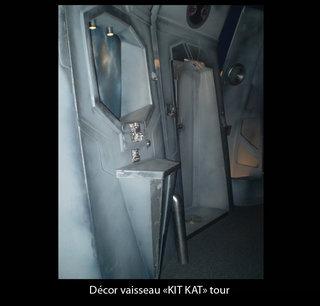 Décor intérieur de vaisseau spatial