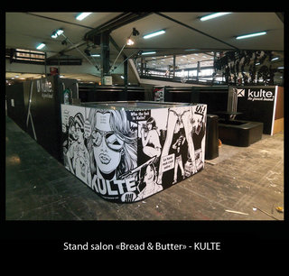 """Stand salon """"Bread and Butter"""""""