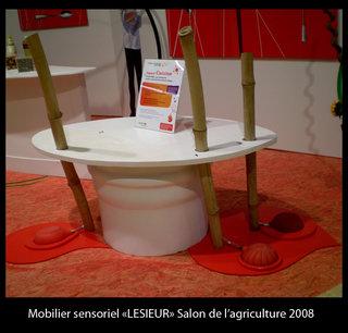 Mobilier sensoriel Lessieur