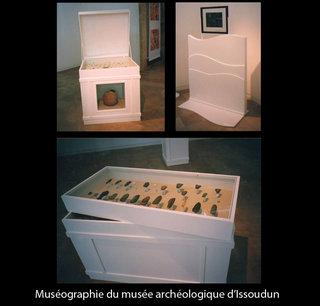 Muséographie du musée d'archéologie d'Issoudun