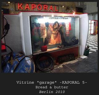 """Vitrine """"Garage"""" Kaporal 5"""