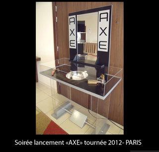 Soirée lancement AXE