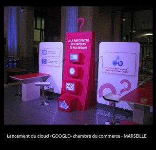 Lancement du Cloud Google