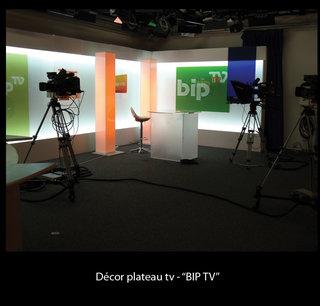 Décor plateau TV