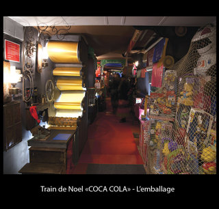 Train de Noel Coca-Cola