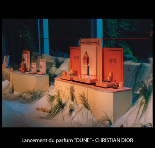 "Lancement du parfum ""Dune"""