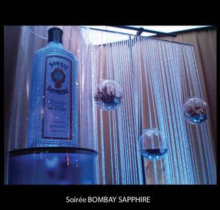 Soirée Bombay Sapphire