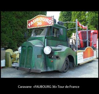 """Caravane """"Faubourg 36"""" Tour de France"""
