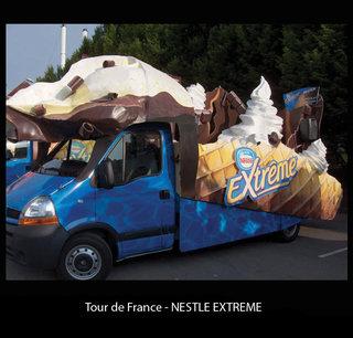 "Caravane ""Nestle"""