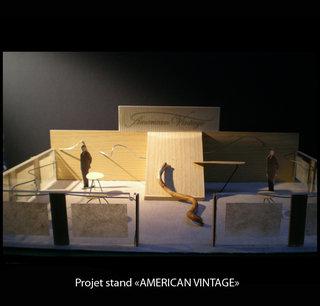 Projet stand American Vintage