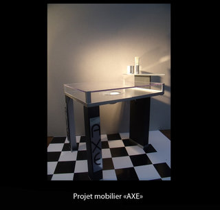 Projet mobilier Axe