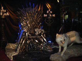 "Réalisation/Sculpture du trône ""Game of Throne"""